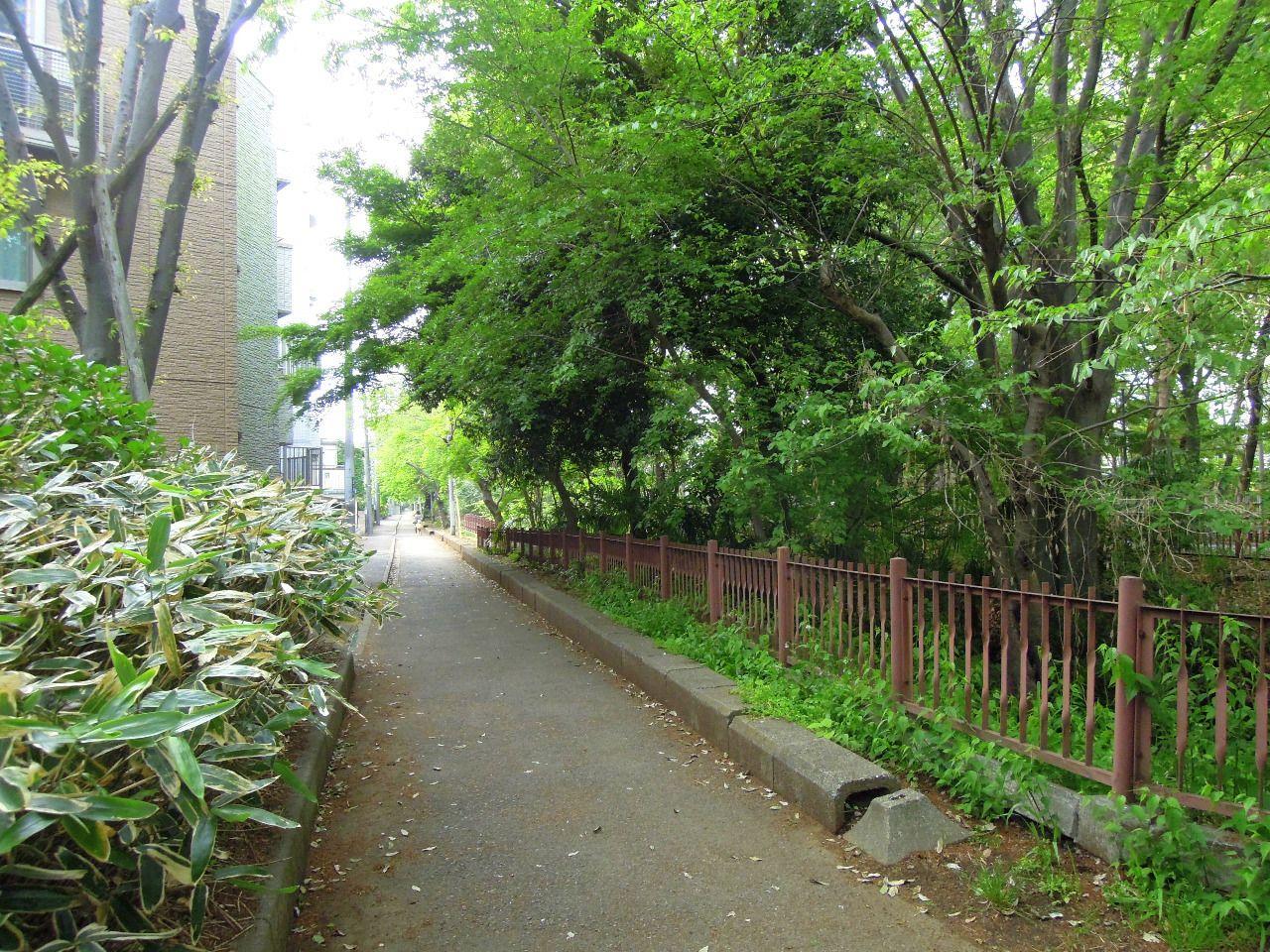 太宰治が住んでいた町として人気の三鷹市は、緑あふれる住宅地です