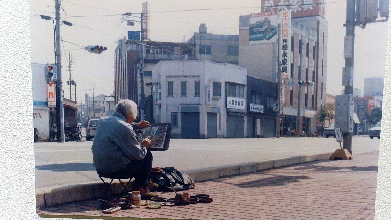 江上茂雄さんは毎日クレヨン画を描き続けました