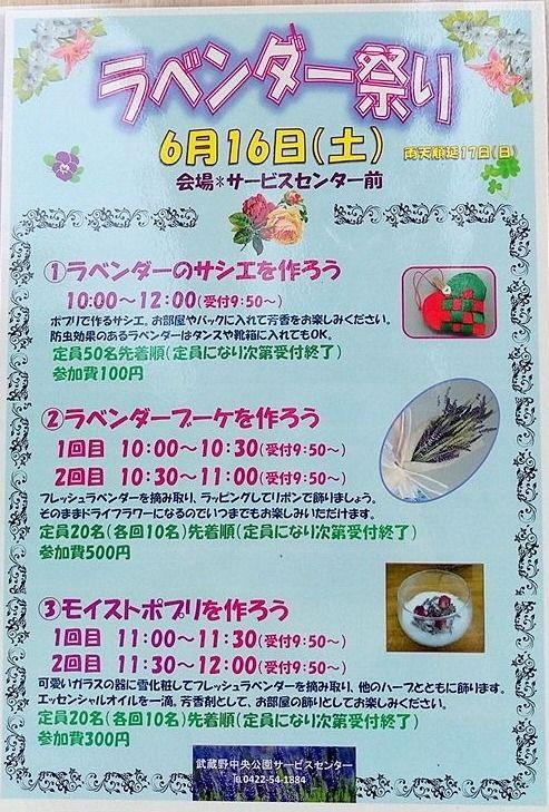 武蔵野中央公園のイベントで親子で楽しみましょう