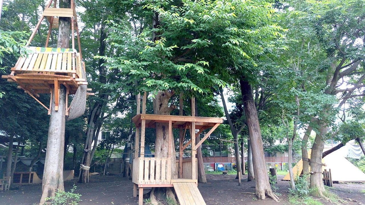 プレーパークは誰でも遊ぶことができます。子どもが思い思いに自由に過ごすことができる遊び場です。
