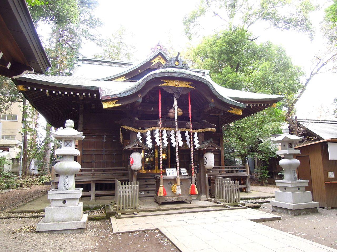 武蔵境の杵築大社