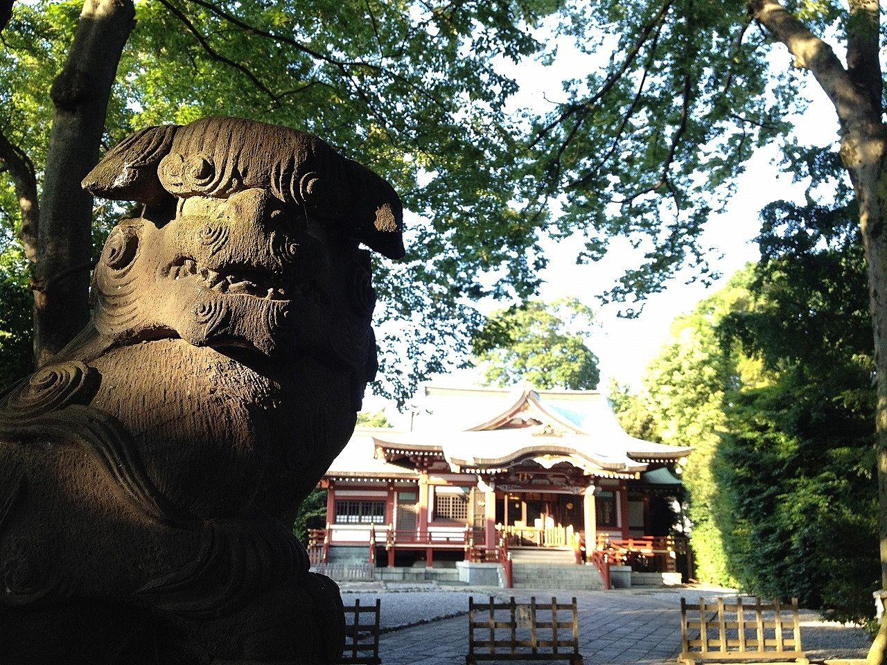 吉祥寺の武蔵野八幡神社