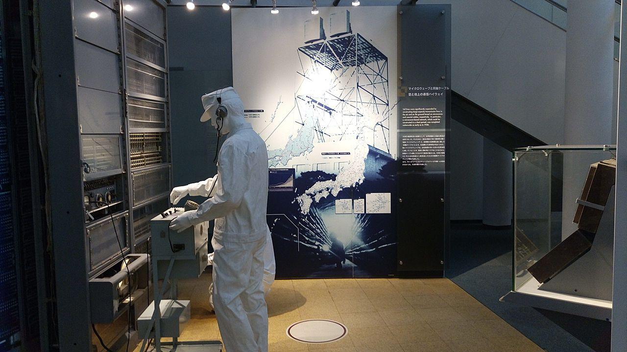 NTT技術史料館サービスとネットワークのひろば