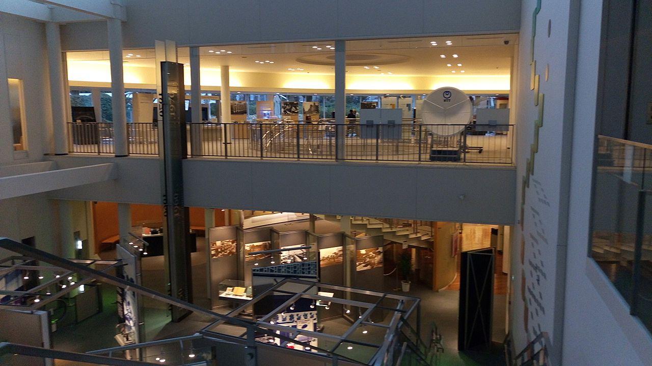 NTT技術史料館はかなりの広さ