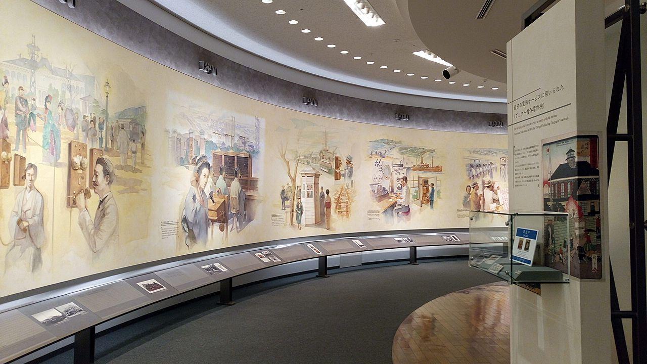 NTT技術史料館の地下1階