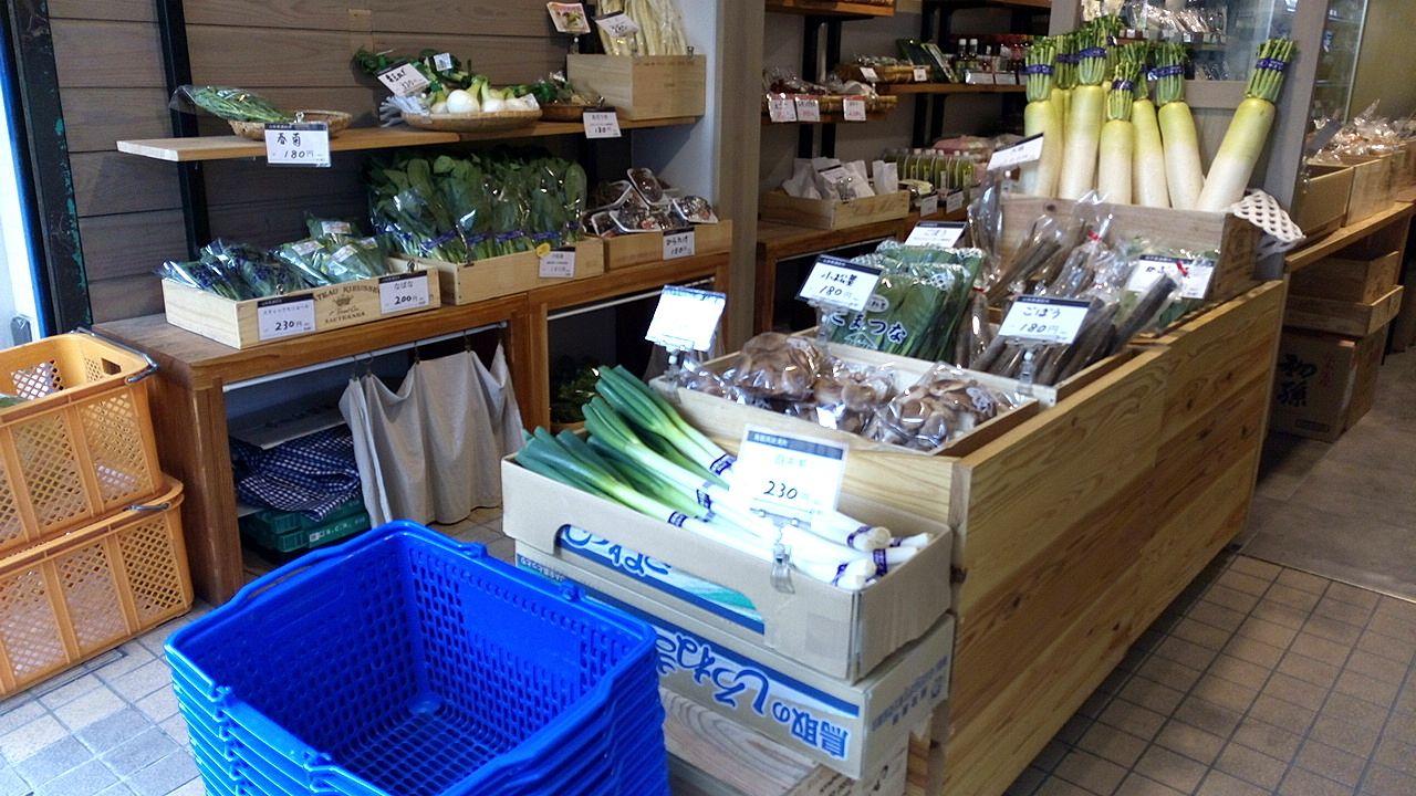 武蔵野市の友好都市の販売所「麦わら帽子」