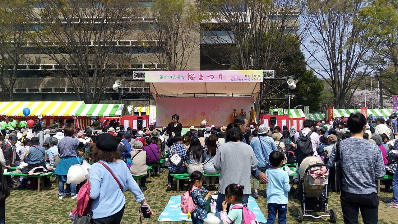 2019武蔵野市桜まつり