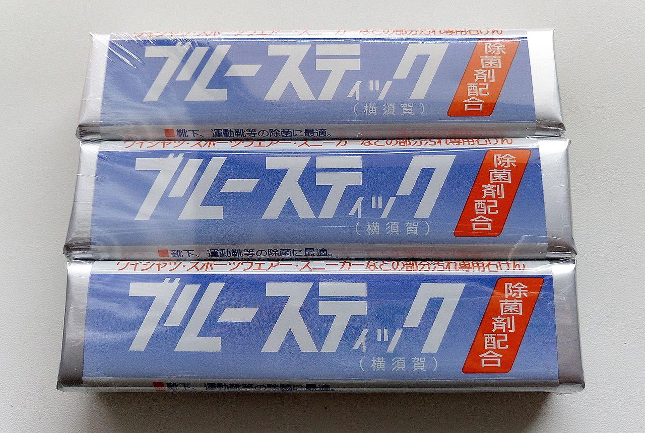 武蔵野桜まつりで販売されたブルースティック