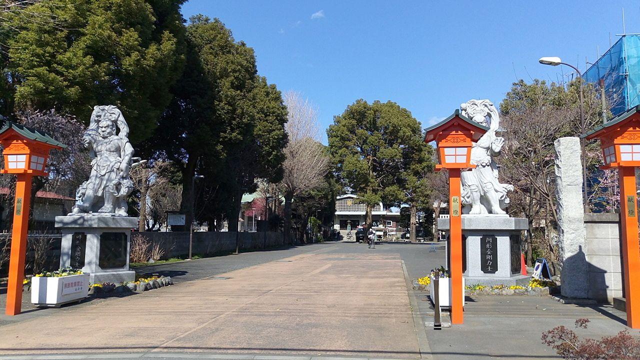 「武蔵野吉祥七福神めぐり」のひとつ「延命寺」