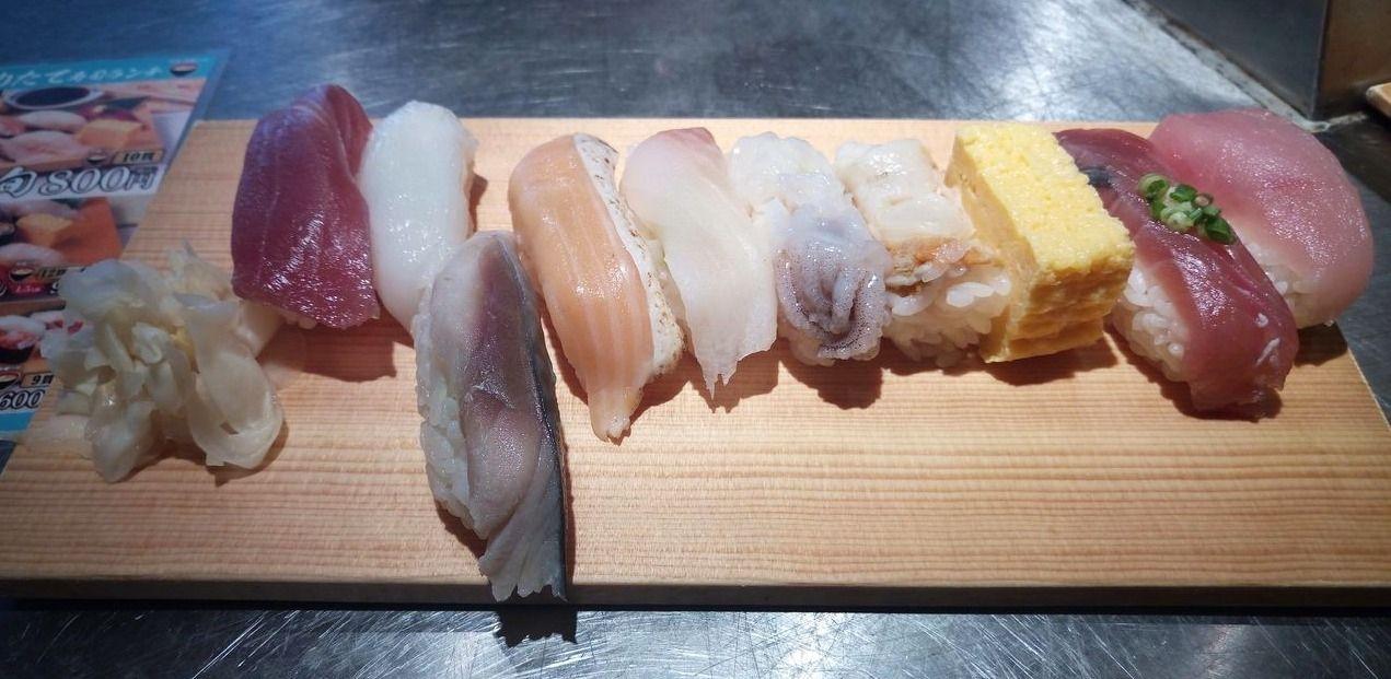 吉祥寺の立ち食い寿司、日本一