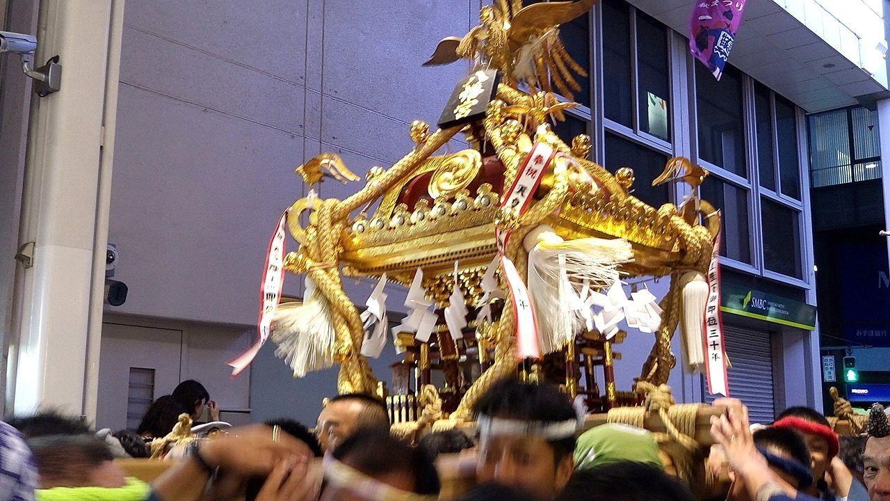 2019吉祥寺秋祭りは9月14,15日です