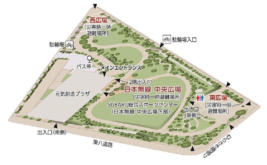 三鷹中央防災公園東広場