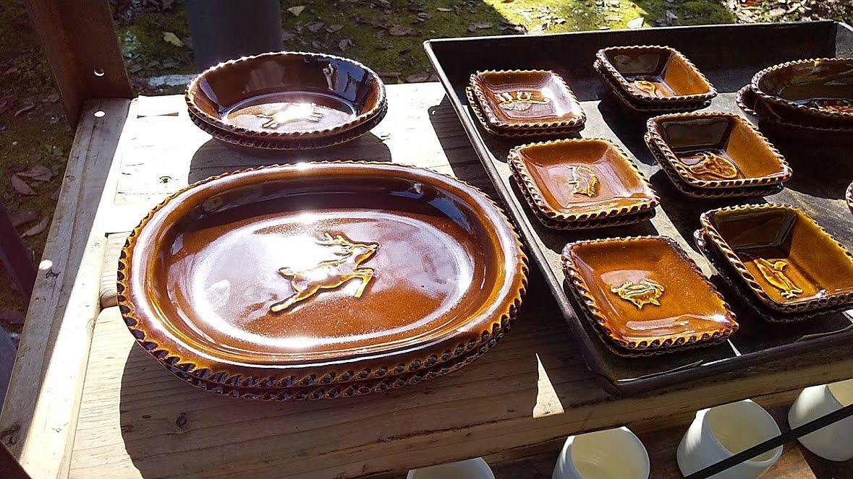 益子焼だけでなく、色々な陶器が揃います