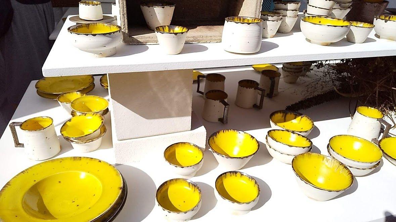 毎回早めに売り切れる人気の陶器