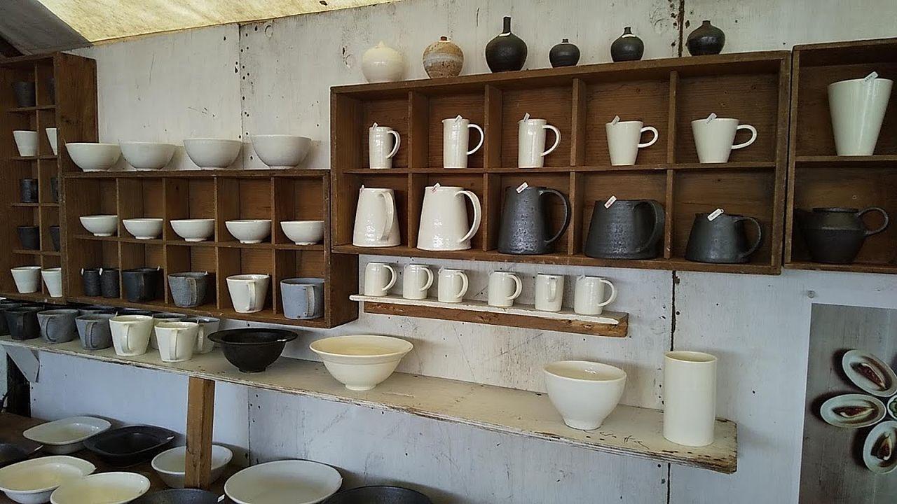このところおしゃれな陶器が多い