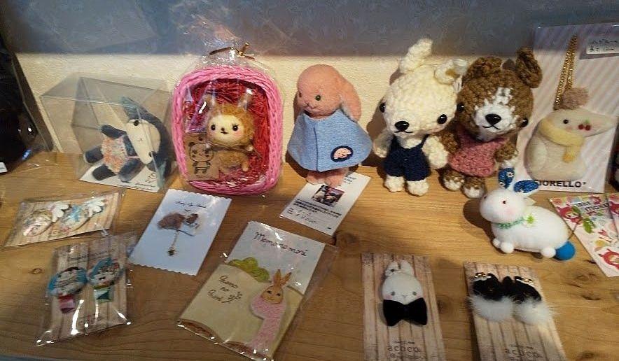 吉祥寺の錆猫ギャラリー、うさうさ№6展示会