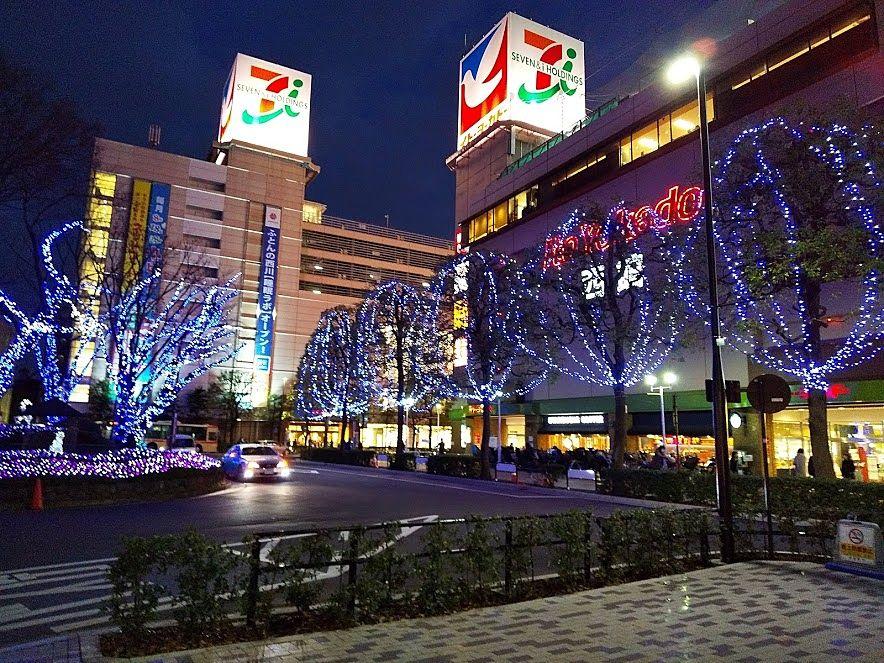 武蔵境駅南口といえば、日本一の面積のイトーヨーカ堂