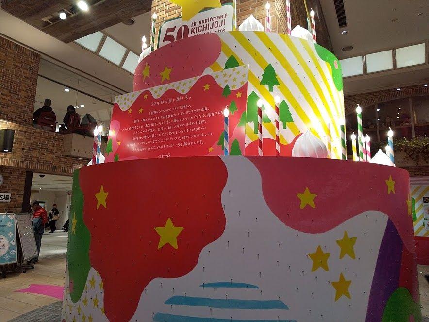 吉祥寺アトレの花火の広場のプレゼント