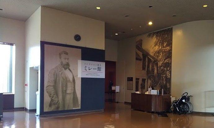 山梨県立美術館のミレー館