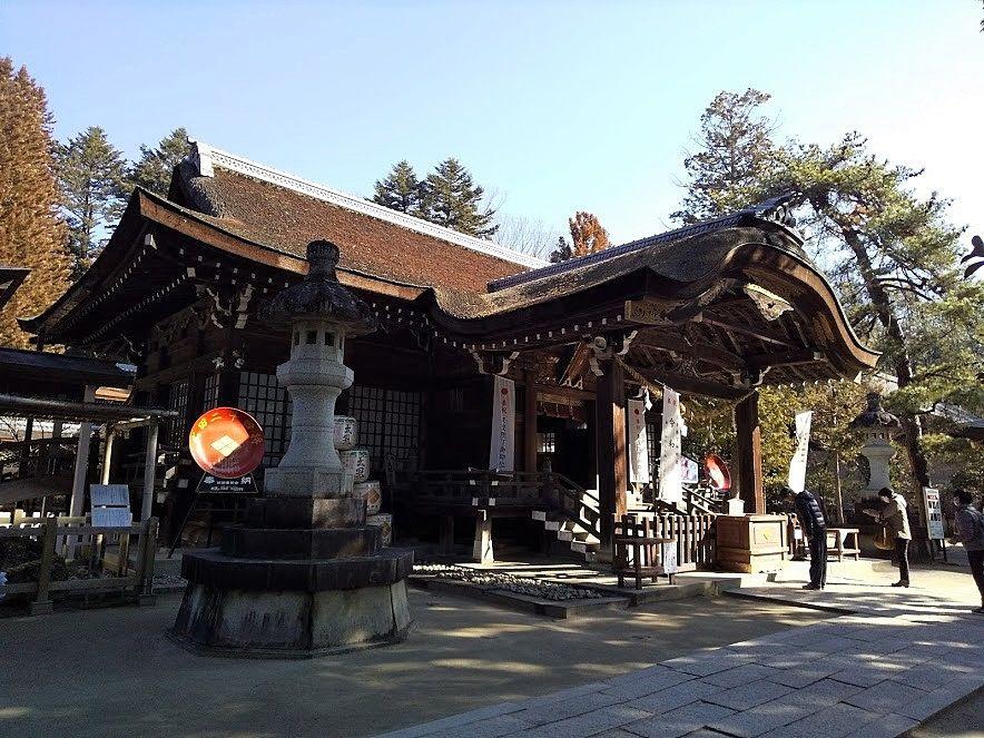 甲府の武田神社