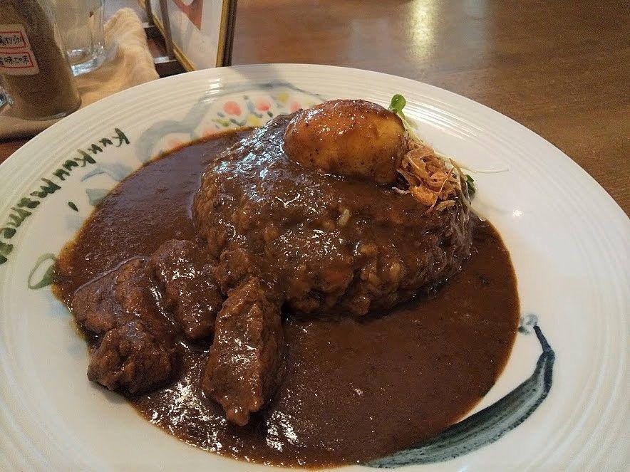 ビーフがとても柔らかく、絶妙な味