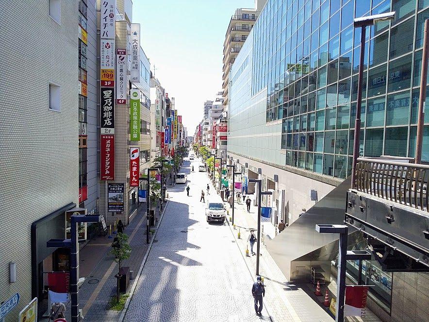 三鷹駅南口、中央通り商店街