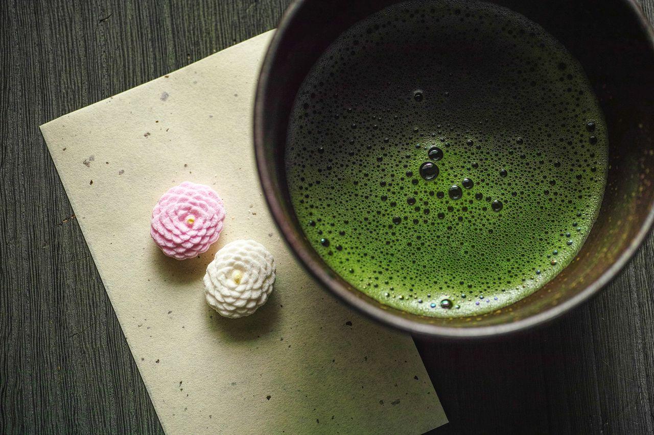 お茶の先生は本当に肌がきれい、やっぱり緑茶最高