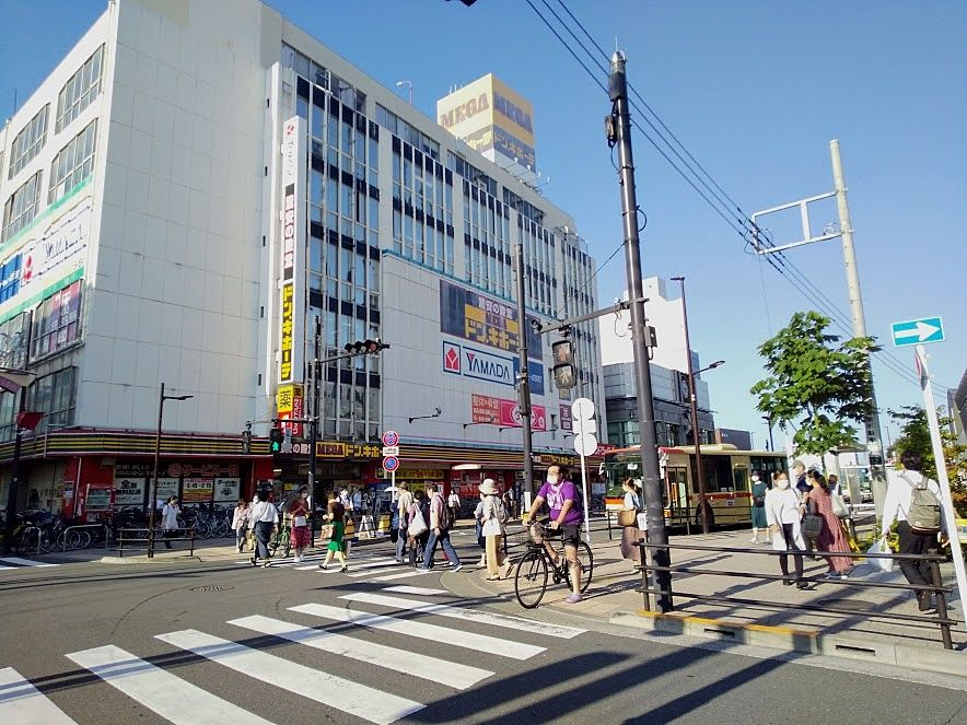 武蔵小金井北口はドン・キホーテがあります