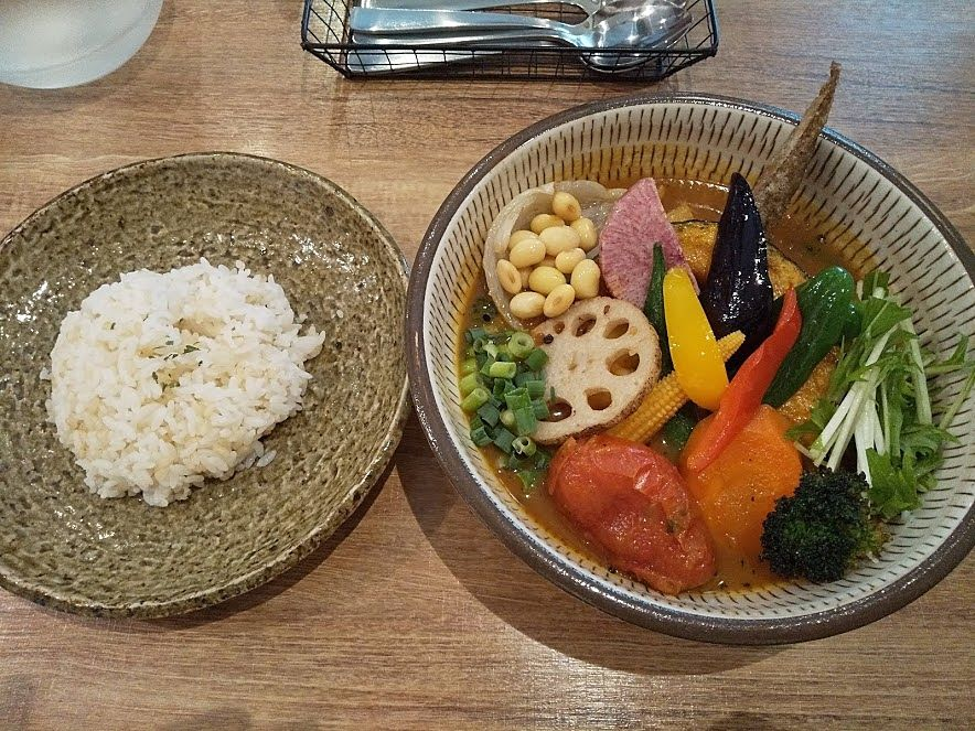 rojiura curry samurai吉祥寺の人気カレー店