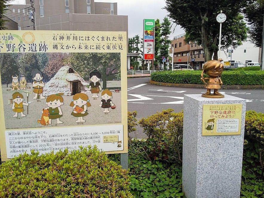 下野谷遺跡、西東京市