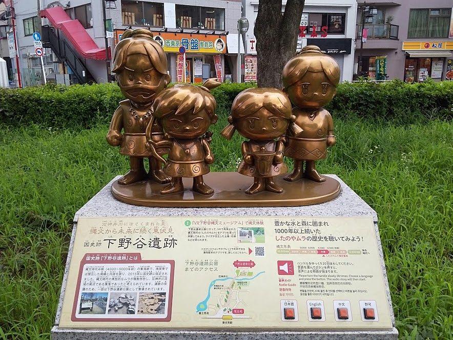 西東京市、下野谷遺跡