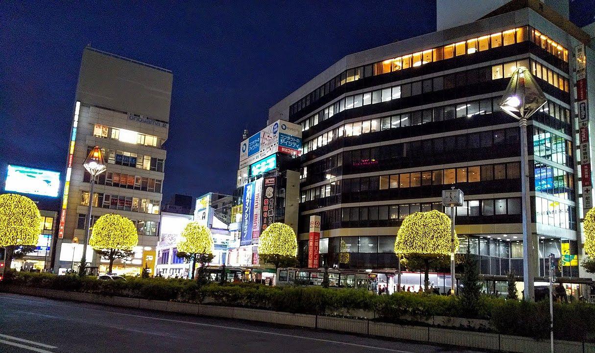 吉祥寺駅前クリスマスイルミネーション