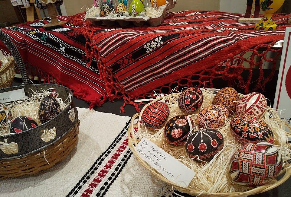 吉祥寺、ルーマニアの焼き物とイースターエッグ展