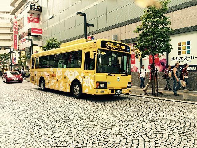 三鷹市のコミュニティバス「みたかシティバス」のルートが変更になりました