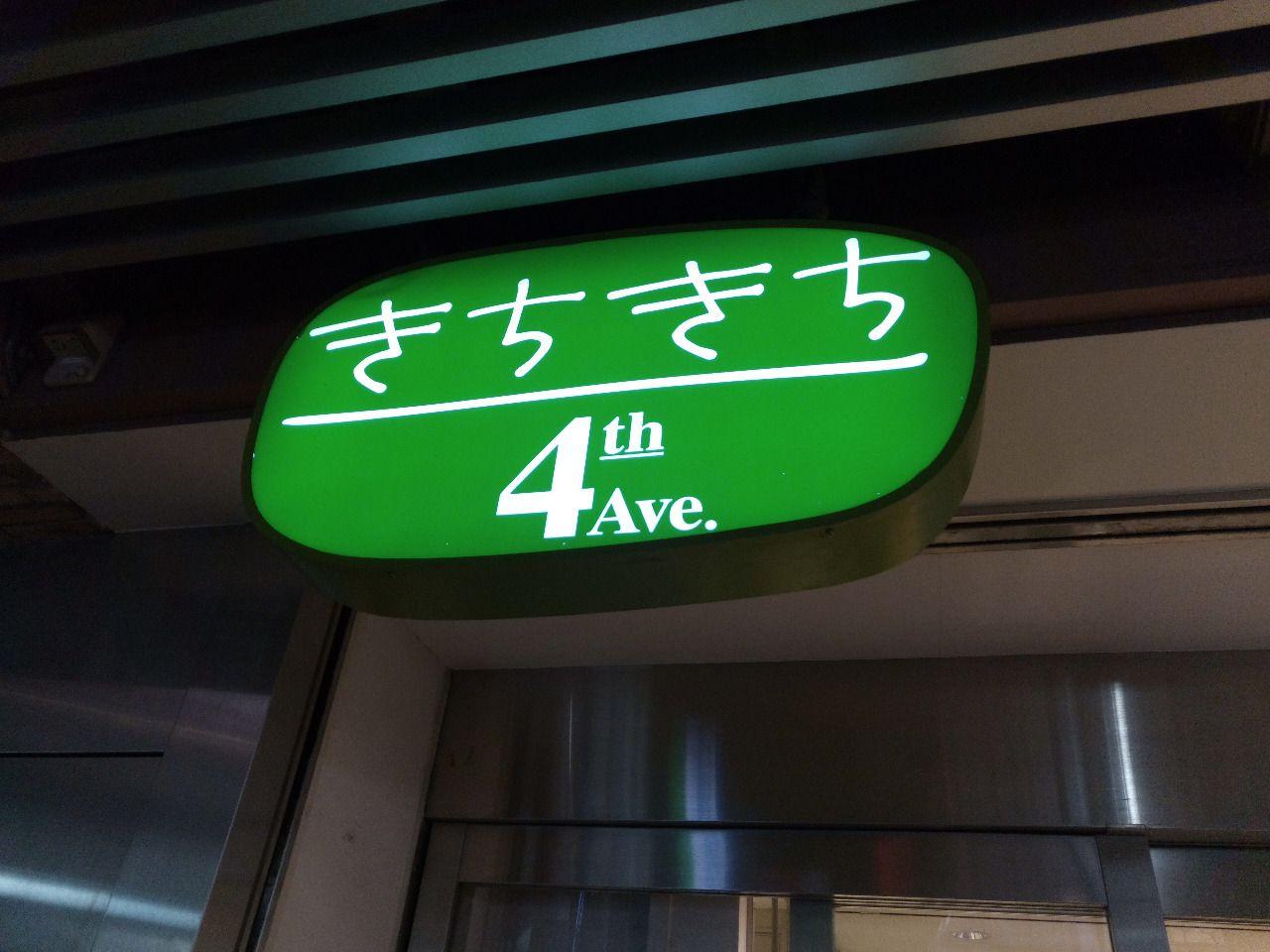 JR中央線の吉祥寺アトレにはきちきちという通りの名前が付いています