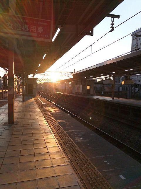 JR中央線三鷹駅東京方面の始発は5時45分 快速