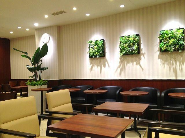 ドトールコーヒー三鷹南口店、喫煙室がきちんとブースになっています