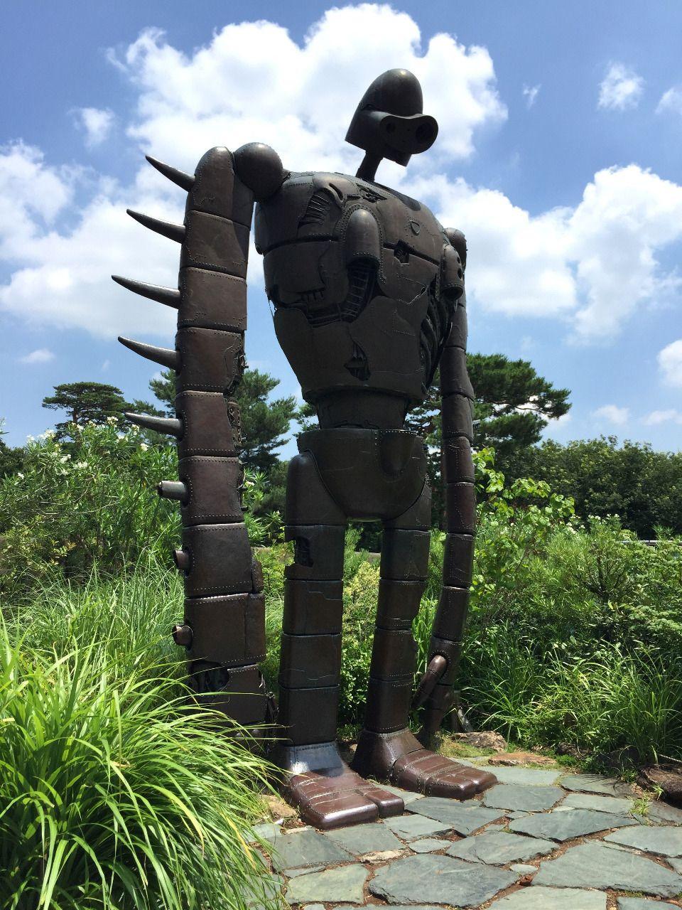三鷹市の井之頭公園に隣接したジブリ美術館