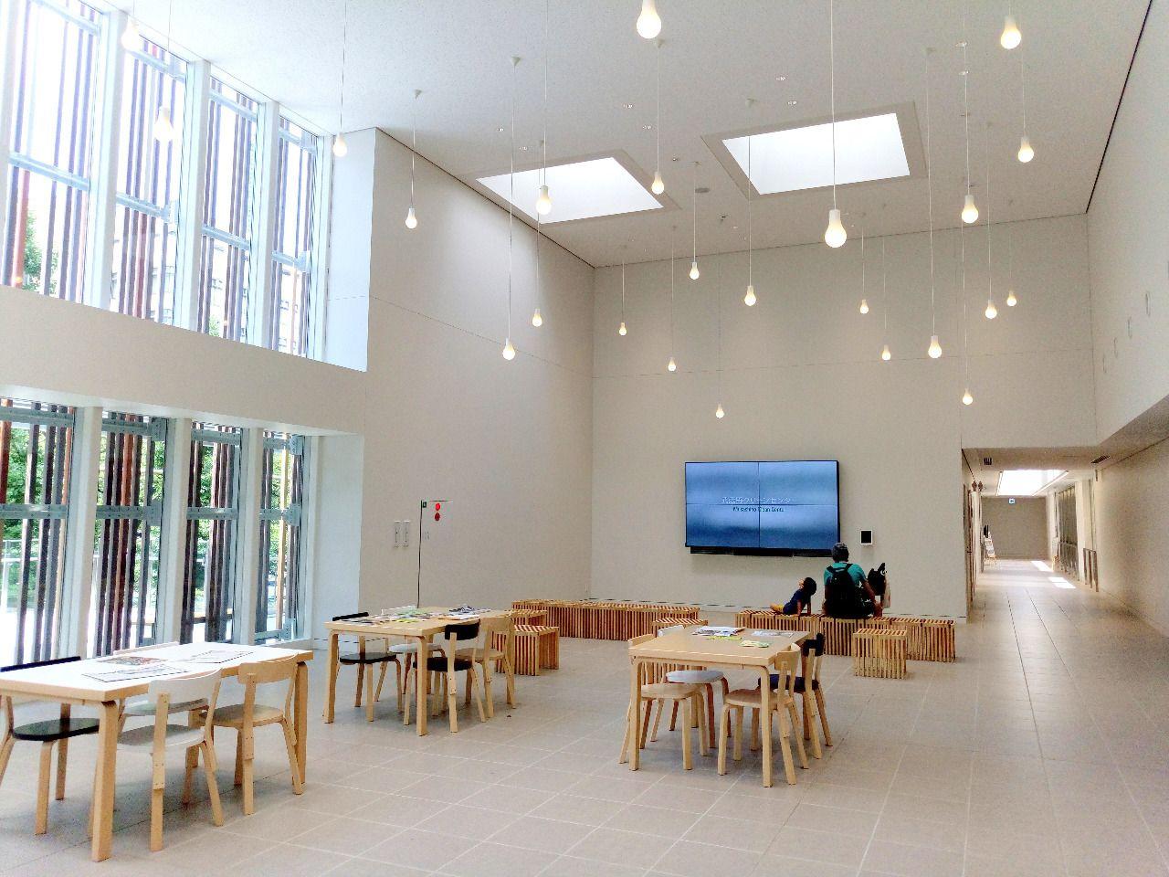 新しくオープンした武蔵野クリーンセンターは見学自由です