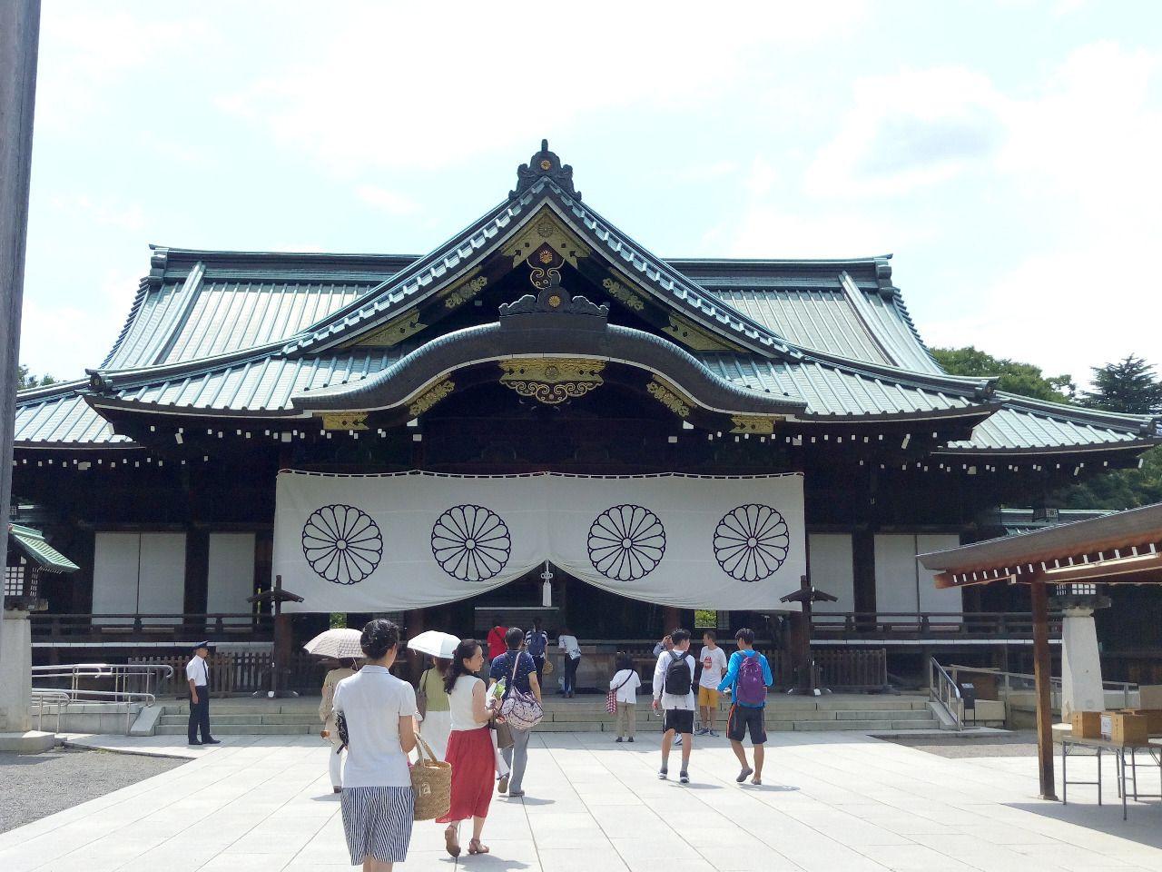 夏休みに行きたい場所 靖国神社