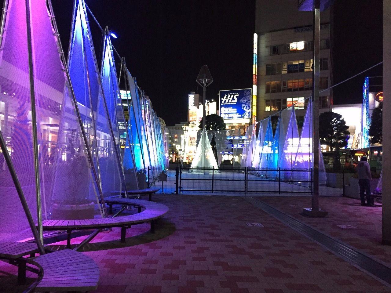JR吉祥寺駅前イルミネーション