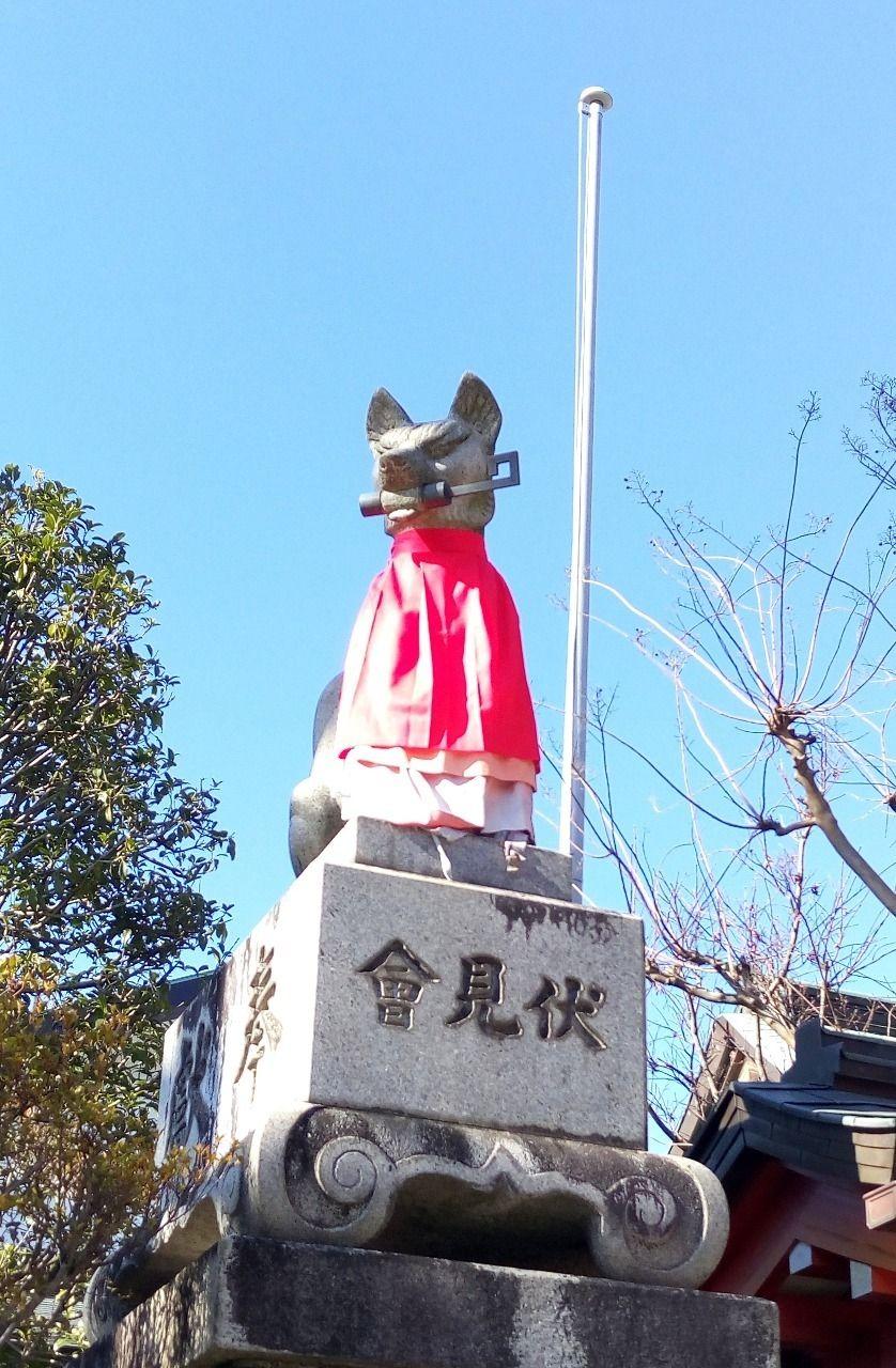 2018年の最強スポット東伏見稲荷神社