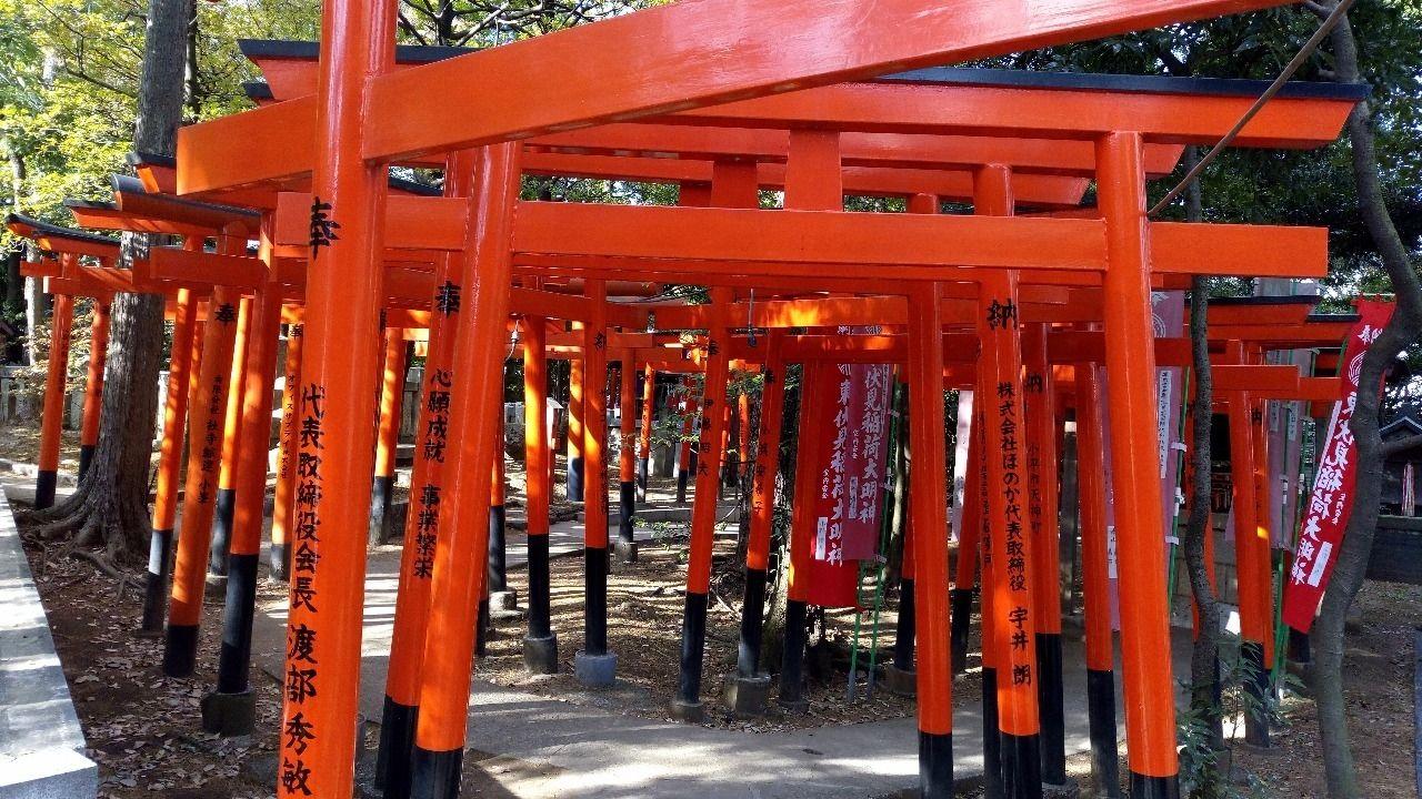 東伏見稲荷神社の本殿横にあるお塚