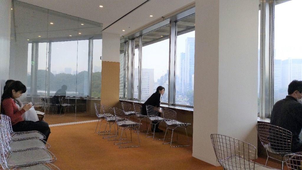 国立近代美術館の眺めのいい部屋