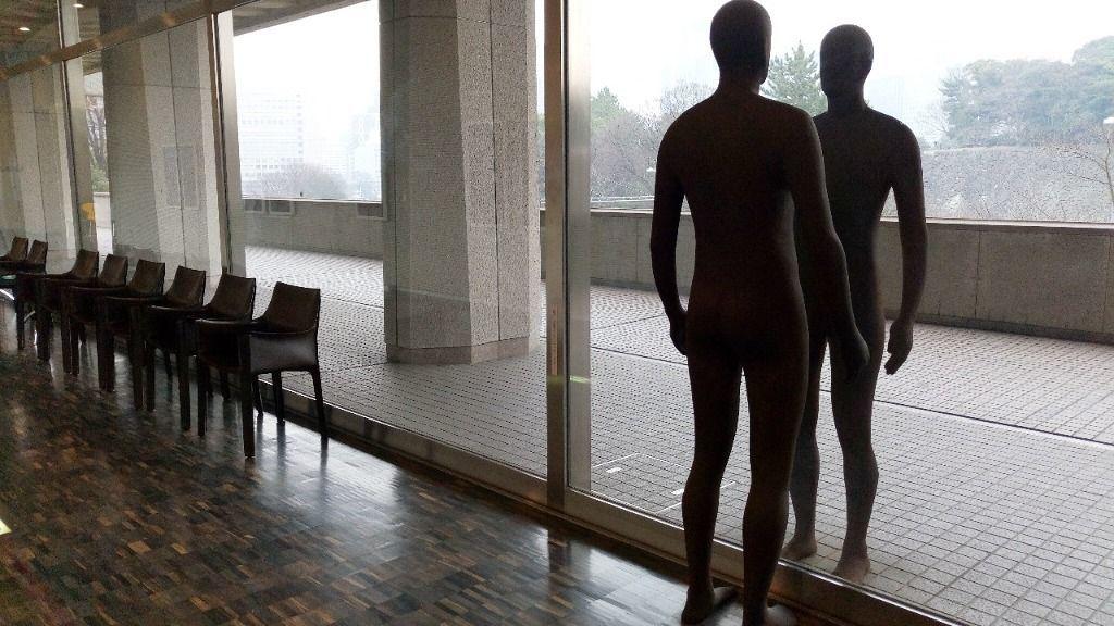 国立近代美術館 ゴームリー、アントニー反映・思索