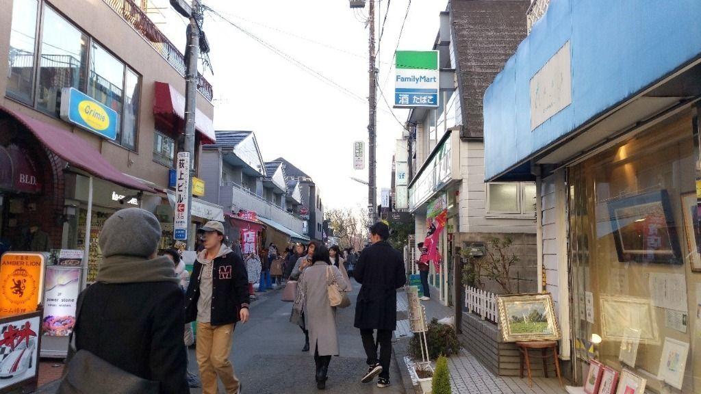 吉祥寺サーキットがある七井橋通り