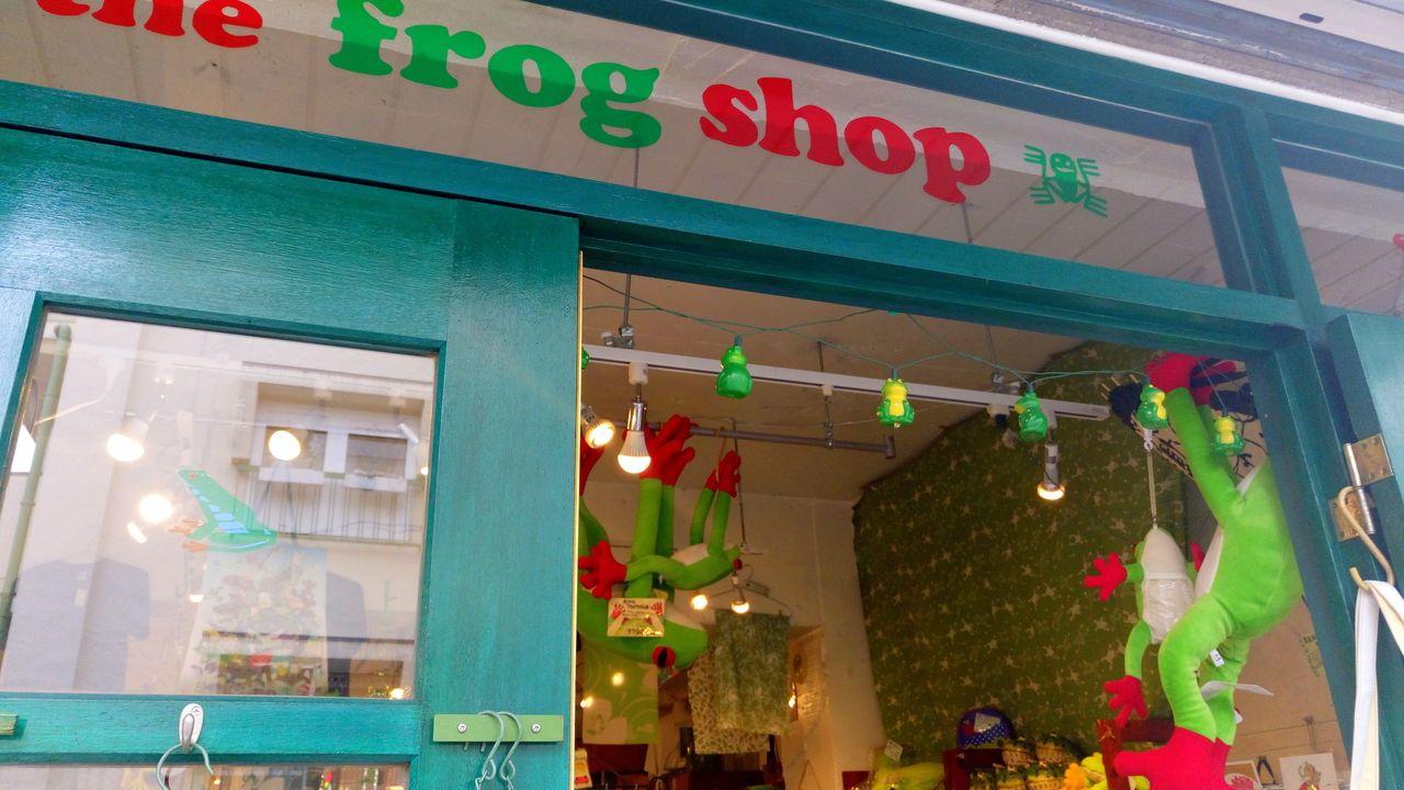吉祥寺にあるカエル雑貨の専門店