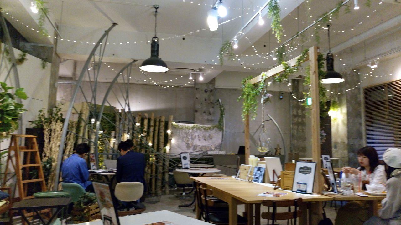 吉祥寺東急裏のカフェウエディング22は結婚式だけでなくカフェとしてもいい